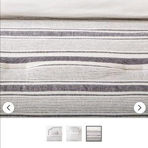 Hearth & Hand Bedding - Hearth and hand railroad gray  KING comforter set